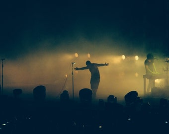 Nine Inch Nails live photo