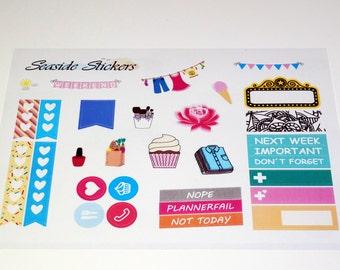 big sampler || glossy or matte || planner stickers