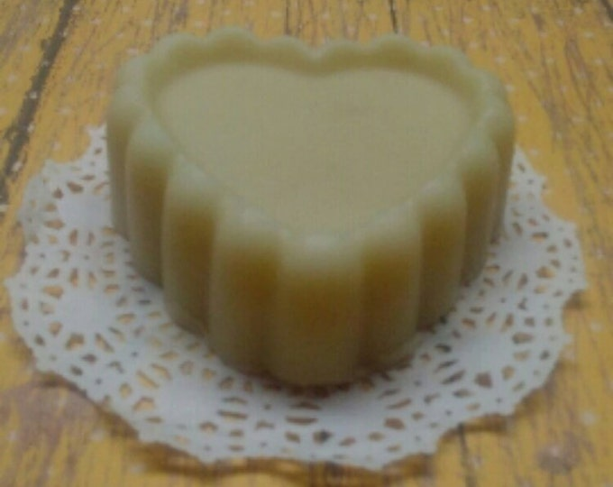 Bee Silky Lotion Bar with Lemon Essential Oil, Silk Amino Acids and Shea Butter, Solid Lotion bar, Hard Lotion Bar, Silk and Shea Lotion Bar