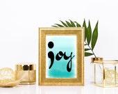 Joy Semicolon Print