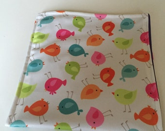 Reusable Sandwich Bag - Birds