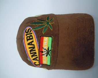 RARE Vintage CANNABIS cap hat free size for all