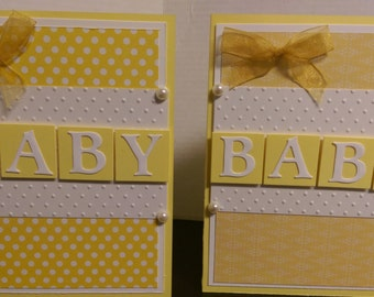 Gender Neutral Baby Shower Card
