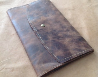 Light Brown Leather Cover for Moleskine Journal