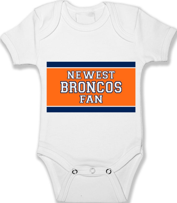 Denver Broncos Fan Baby Bodysuit Infant & Baby Clothing