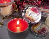6 oz Travel Tin Candles-Strawberry Cheesecake 6 Pack