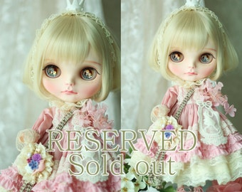 RESERVED*OOAK* MINT Custom Blythe **Little Princess