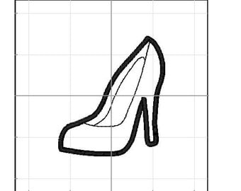 high heel applique 4x4