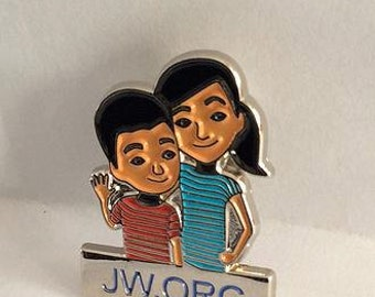 10 pcs JW  Kids Lapel metal Pins 10 pcs  26.00