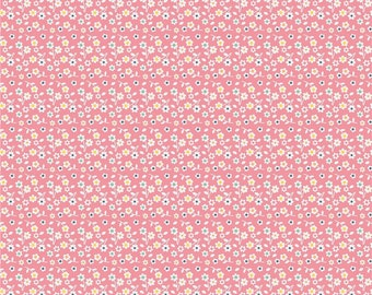 Riley Blake Designs A Beautiful Thing Pink Flower by Zoe Pearn F 3984