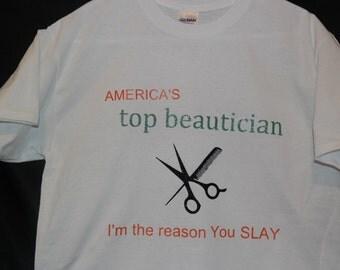 America's Top Beautician T-shirt