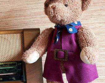 Folk Style Teddy Bear