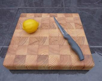 End Grain Cutting Board: Board - Scandinavian Pine