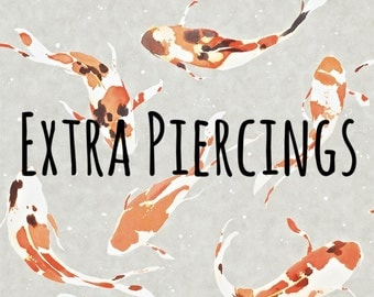 Faceup Extra -- Extra Piercings