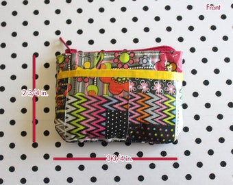 Duct Tape Coin Purse - Patchwork