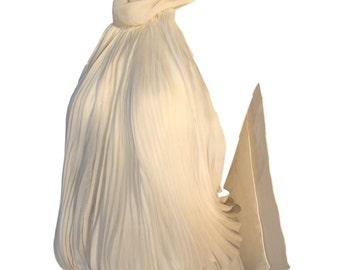Gianfranco Ferre Cream Chiffon Silk Halter Neck Top Size UK 8
