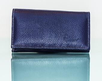 Portfolio - leather - blue purple