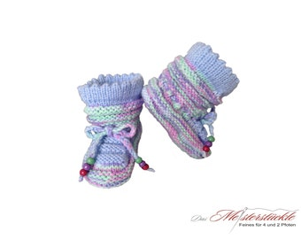 Baby shoes baby socks knit first shoes
