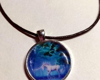 ON SALE Unicorn pendant