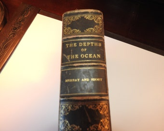 "The Depths of the Ocean-The Steamship ""Micheal Sars"", Published 1912"