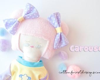 Carousel: Heirloom Quality Designer Cloth Doll