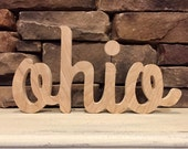 Ohio Script Sign