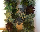 Succulent Letter Wall Hanging - FREE SHIPPING
