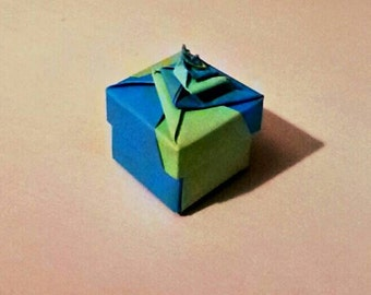 "origami boxes ""/spiral box origami box/gift box/price for one piece"