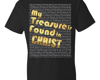 My Treasure is Found in Christ Tee