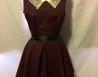 New hand made gothic lolita dress simple pretty lacey
