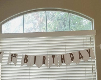 Happy Birthday Dinosaur Banner