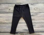 Black Baby Leggings Toddler Leggings Baby Girl Leggings Baby Girl Pants Girls Leggings Baby Leggings Girl Baby Yoga Pants Toddler Yoga Pants