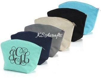 Jute Cosmetic Travel Bags