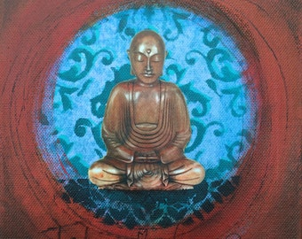 Buddha Small Canvas