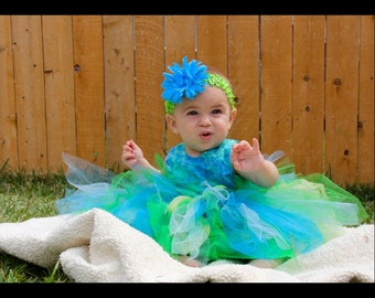1st. birthday. Easter, fairy dress