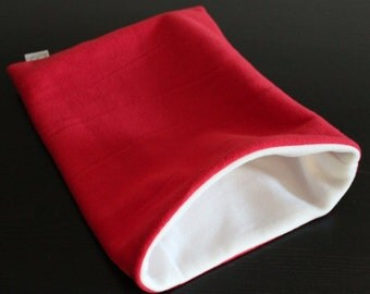 Snuggle sack/snuggle pouch/sleeping bag for hedgehog, guinea pig, rat and other small animals. Small pet bedding.