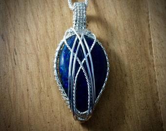 Blue Azurite Pendant
