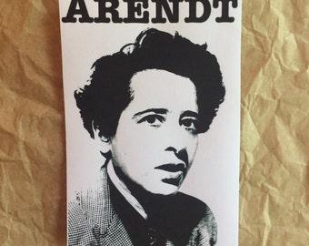 Hannah Arendt Sticker