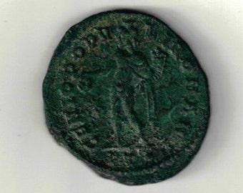 Choice XF Diocletian Follis Ancient Rome Circa 300 a.d. Coin