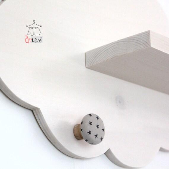 tag re murale nuage blanc d coration chambre b b enfant. Black Bedroom Furniture Sets. Home Design Ideas