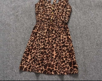 Cute strappy back dress