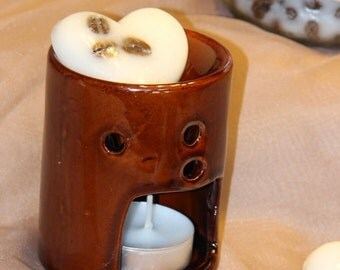 Coffee with Cream Oil Burner and Wax Melts Set