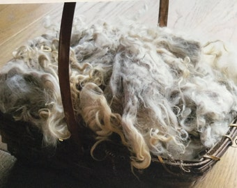 Super soft raw angora mohair
