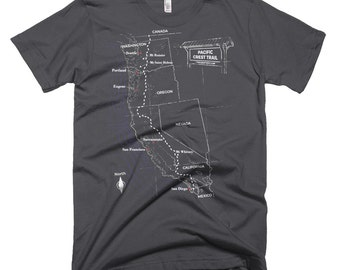 Pacific Crest Trail Short Sleeve Tee - Men's
