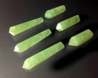 6 Pieces Prenite Crystals wholesale Lot For Pendants@LE