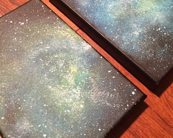 Space painting #4 and #5
