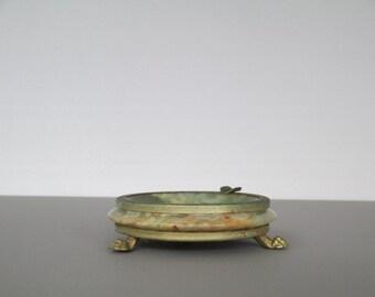 Alabaster ashtray