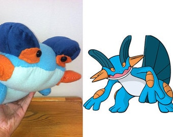 Custom Stuff Toy Swampert Pokemon