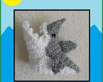 Crochet Shark Booties, Shark Socks, Shark Attack Baby Shoe, Baby Slippers, Crib Shoe, Baby Shower Gift, Fun Baby Gift, Boys and Girls