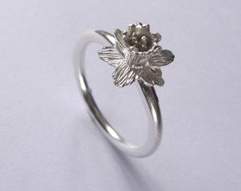 Daffodil Ring - Sterling Silver